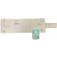 CMB03WPAS Cordless bed leaving sensor pad with wireless alarm receiver with audible alarm and nurse call connection