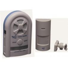 CTMV-MEDPIR2 Recordable voice alarm receiver with wireless movement sensor