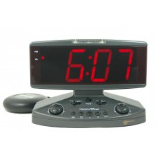 Wake N Shake v3 Jumbo vibrating alarm clock with flashing telephone ring indicator GWNSJV3