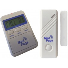 PAG-11C-DCT Door contact alarm with pager alarm for single or multiple doors