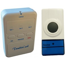 PAG31DB Wireless doorbell with vibrating pager alert for deaf people