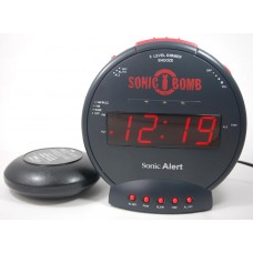 SBB500SS Vibrating alarm clock Geemarc Sonic Bomb