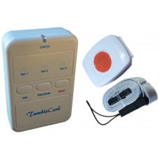 TUM31TXP11 Waterproof call button fall sensor with caregiver alarm notification pager kit