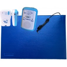 TumbleCare Floor pressure mat bed exit alarm with pager (TUMFMMPPLK)