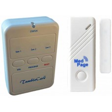 TUMPAG31DCT Wireless door alarm transmitter with radio pager alert